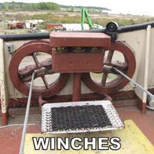 marine winches for sale