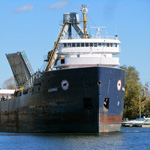 The Algorail, Algoway and the English River Arrive in Port Colborne