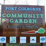 Spring Has Sprung at the New Community Garden in Lockview Park